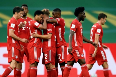 Bayern wrap up DFB-Pokal in Berlin
