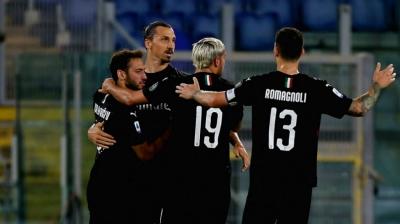 Serie A: Milan dent Lazio's title hopes