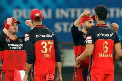 IPL 2020: RCB claim opening win