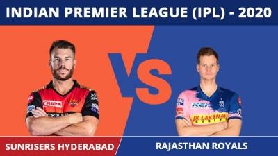 IPL 2020: RR vs SRH, Match 40 updates