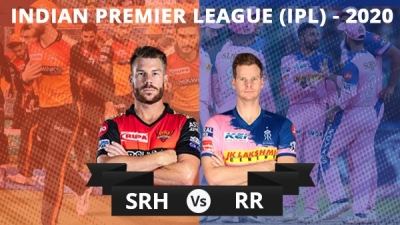 IPL 2020: RR vs SRH, Match 40: Toss