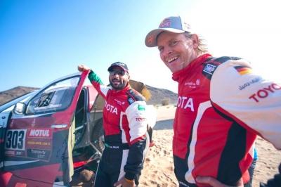 Dakar 2021: Yazeed wins stage 10