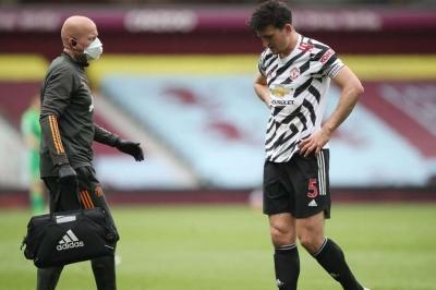 Man Utd wait on Maguire update
