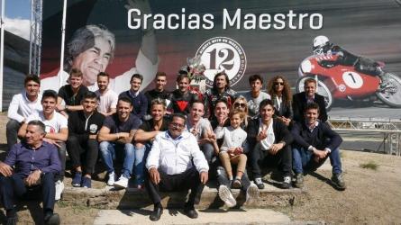 MotoGP riders remember Nieto