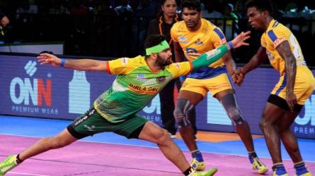 PKL 2017: Patna Pirates edge Tamil Thalaivas 41-39 in a tight finish