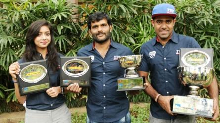 Karnataka trio clinch top honours