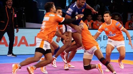 Puneri Paltan continue good show at home, beat Dabang Delhi 34-31