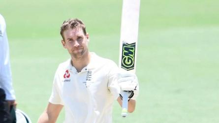 Malan posts century for England