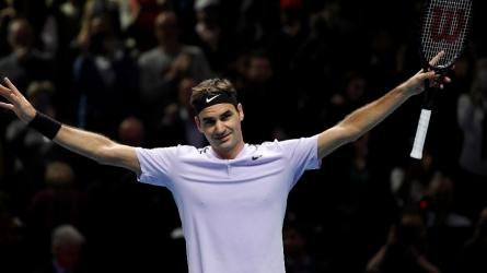 It's Federer vs Goffin and Sock vs Dimitrov