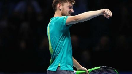Goffin sets up Federer semi