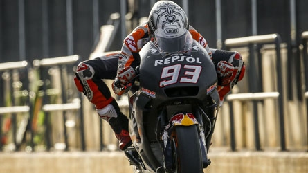 Marquez fastest in Valencia testing