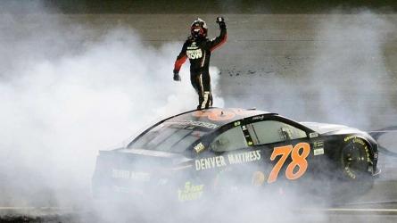 Truex wins first NASCAR title