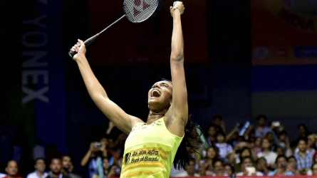 Sindhu eases past top seed Yamaguchi