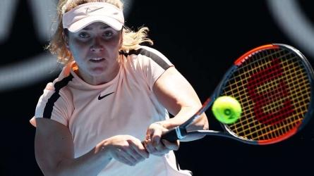 Svitolina reveals hip injury battle