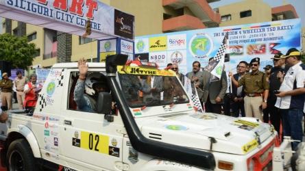 Tri-Nation Himalayan Drive flagged off