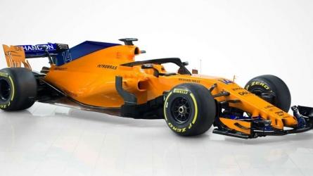 McLaren launch new-look car for 2018 F1 season