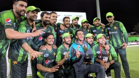 Pak remain No. 1 ranked T20I side