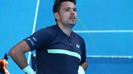 ATP: Wawrinka retires in Marseille