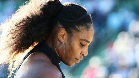 Serena skips media after loss