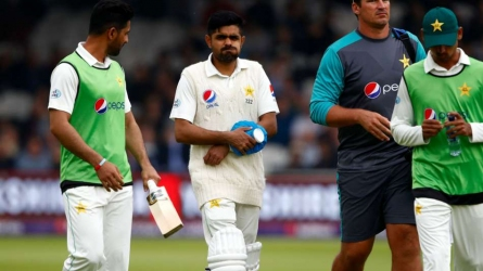 Pakistan's Babar ruled out