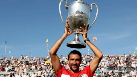 Cilic claims second Queen's title