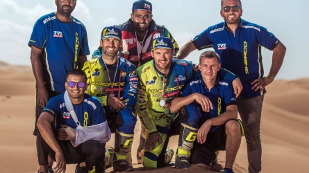 Michael Metge wins PanAfrica Rally