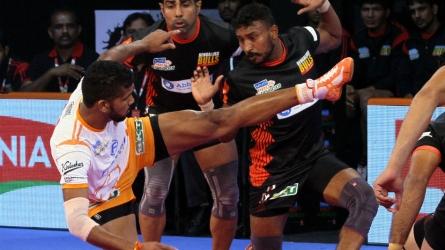 PKL: Puneri Paltan edge Bengaluru Bulls