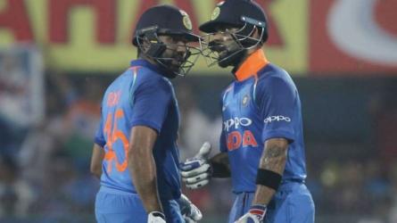Kohli hails Rohit partnership
