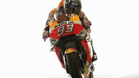 Marquez wins MotoGP title