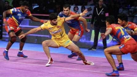 PKL: Telugu Titans edge past UP Yoddha