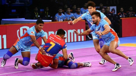 Bengal Warriors and U.P. Yoddha play out tie