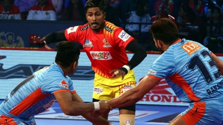 PKL: Fortunegaints beat Warriors