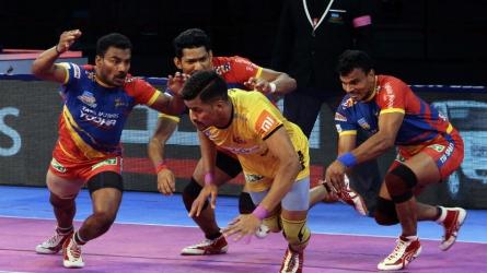 UP Yoddha draw with Telugu Titans