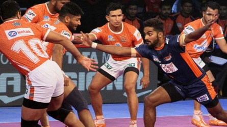 Bengal Warriors beat Puneri Paltan