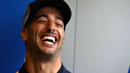 Ricciardo shrugs off grid penalty