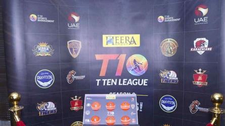 T10 League 2018: Here's full schedule