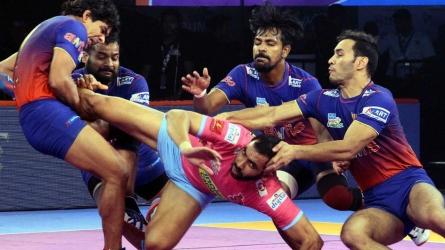 Dabang Delhi beat Jaipur Pink Panthers 40-29