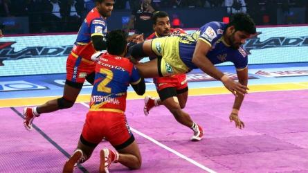 Tamil Thalaivas, UP Yoddha play out draw