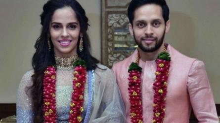 Saina ties the knot with Kashyap