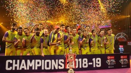 Bengaluru Raptors win PBL 4