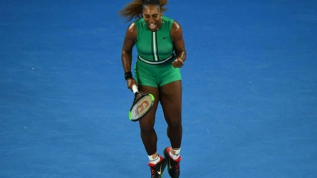 Superb Serena blows Bouchard away