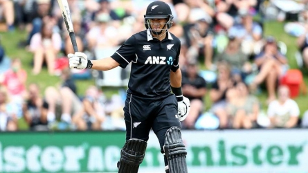 Taylor makes ODI history for NZ