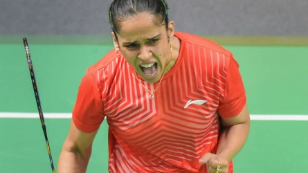 Saina, Saurabh emerge champions