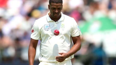 Philander to miss second Test