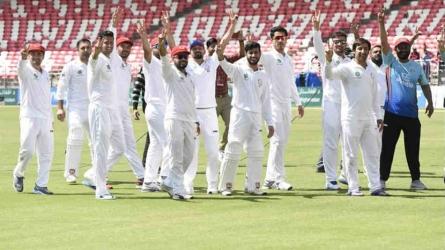 Afghanistan beat Ireland for maiden win