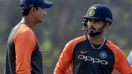 Pant hopes for a berth in WC squad