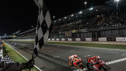 A stunner of a season opener in Qatar