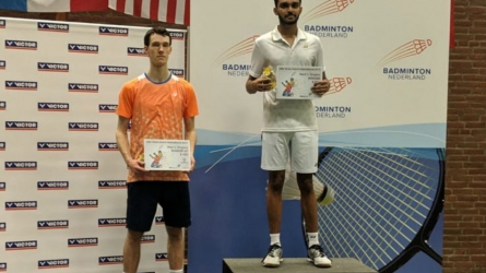 India's Harsheel Dani clinches Dutch Open International