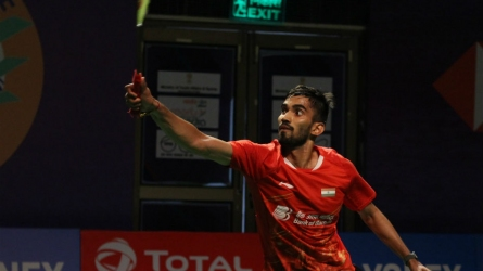 Srikanth slips to 8th in BWF ranking