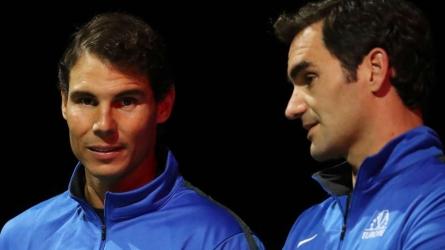 Nadal, Federer in same half of draw